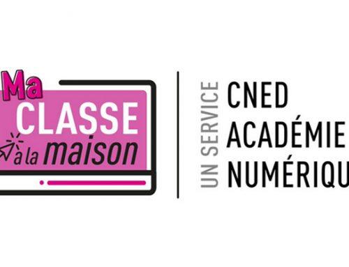 Continuité pédagogique – MA CLASSE A LA MAISON – CNED